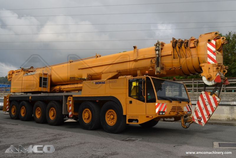 grua movil demag ac 300