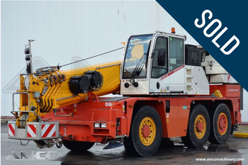 grua city DEMAG AC40